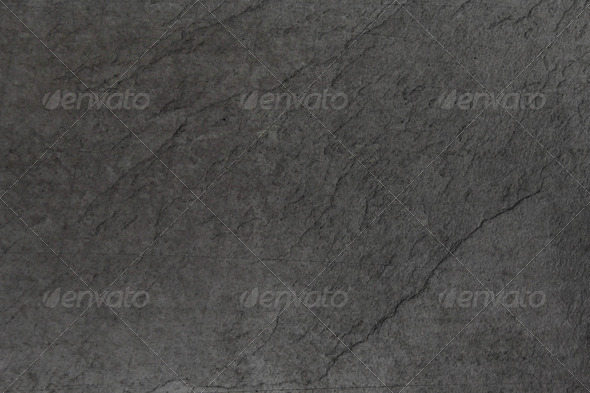 Dark Gray Slate - Stock Photo - Images