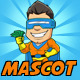 Superhero Mascot - GraphicRiver Item for Sale