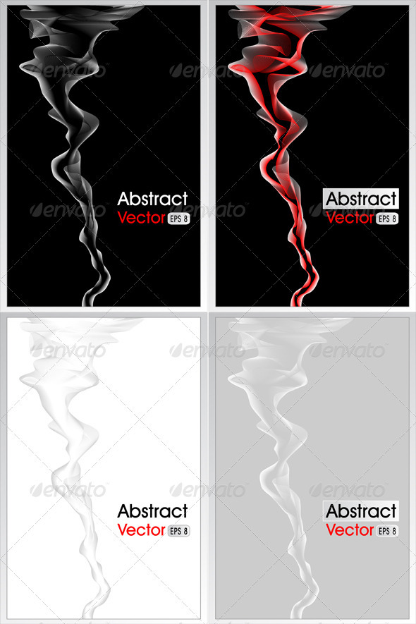 GraphicRiver Abstract Background with Smoke 3952820