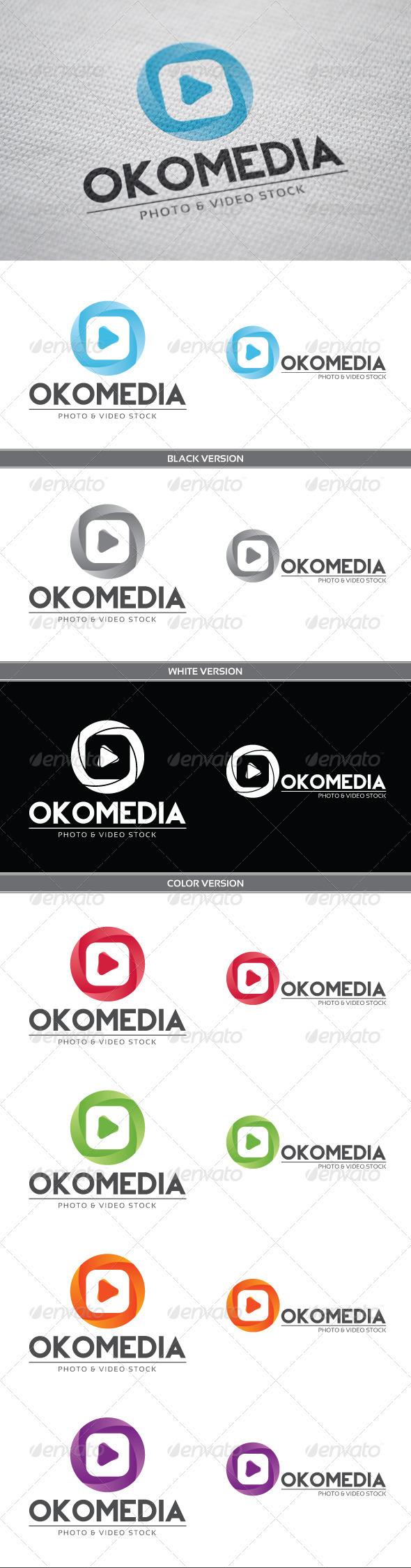 GraphicRiver Okomedia Logo 3798415