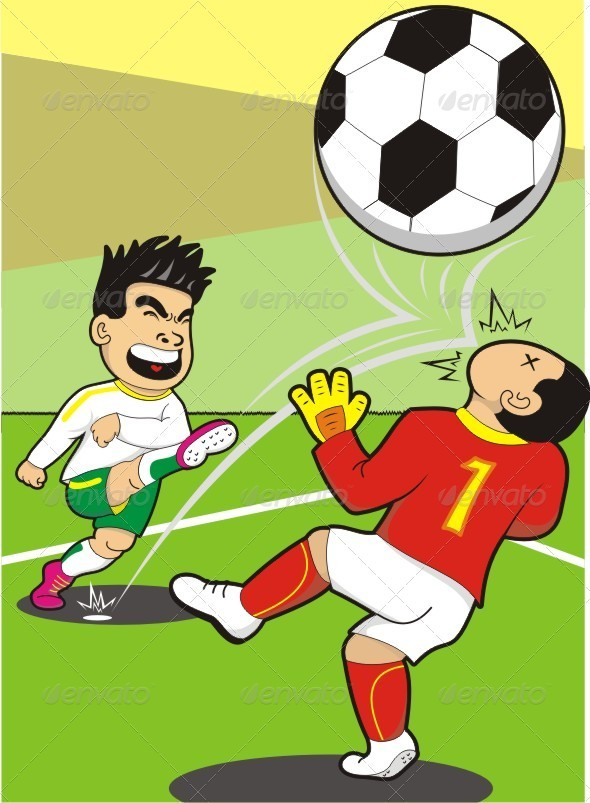 GraphicRiver Funny Penalty Kick 3865102