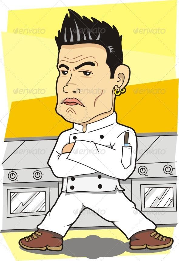 GraphicRiver Killer Look Chef 3874679