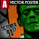 A3 Halloween Event Poster - GraphicRiver Item for Sale