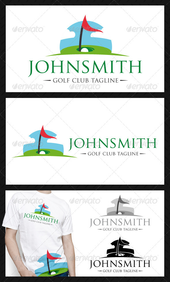 Golf Ball Logo Template Golf Club Logo Template