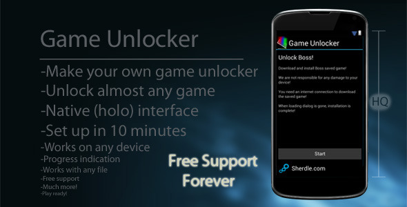 Android Permainan Unlocker - WorldWideScripts.net Item for Sale
