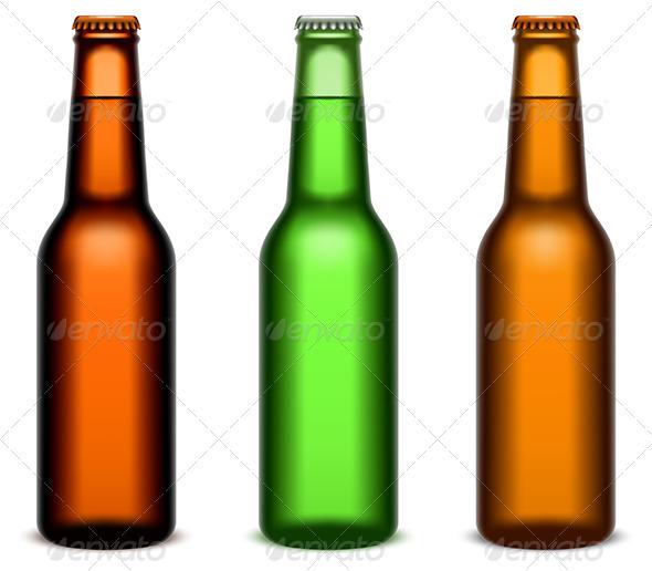 GraphicRiver Beer Bottles 3956046
