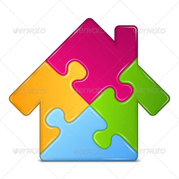 GraphicRiver Puzzle House 3956354