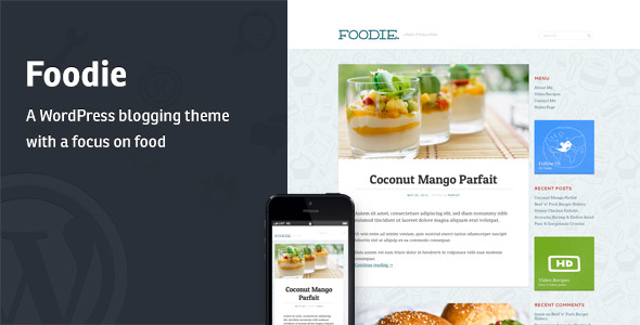 Foodie - A Whimsical Food Blogging Theme