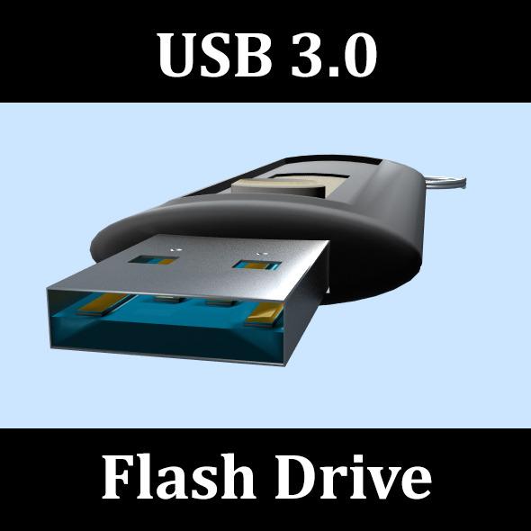 3DOcean USB 3.0 Flash Drive 3956748