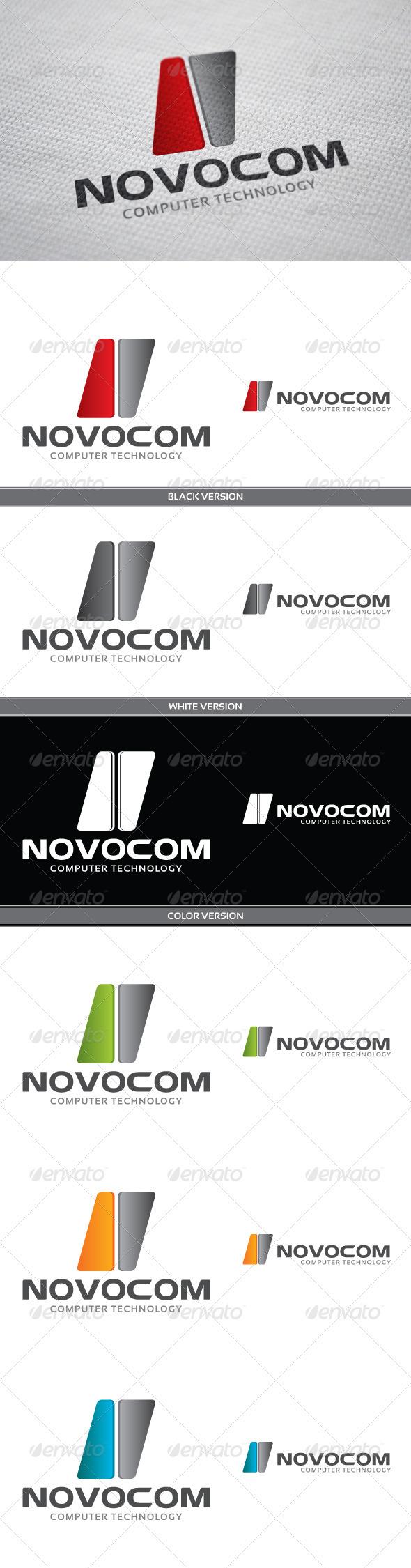 GraphicRiver Novocom Logo 3957732