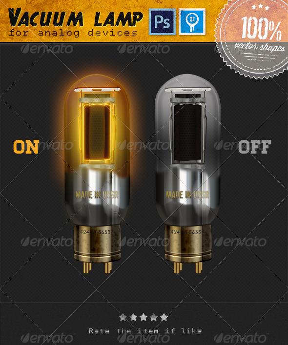 GraphicRiver Vacuum Lamps 3957779