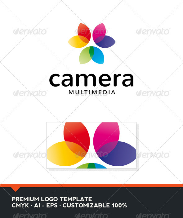 GraphicRiver Camera Logo Template 3958163