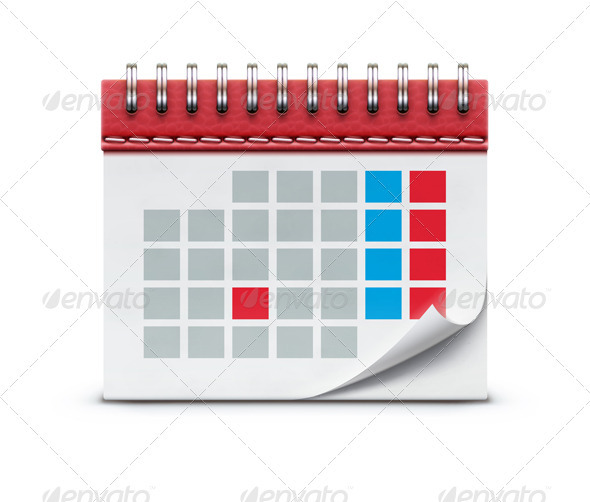 GraphicRiver calendar icon 3958302