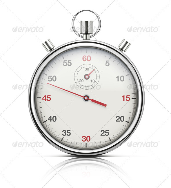 GraphicRiver realistic stopwatch 3958338