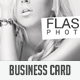 Flash & Glow Business Card - GraphicRiver Item for Sale