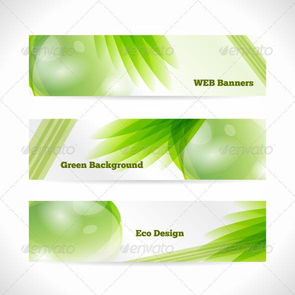 GraphicRiver Vector Eco Banner 3958769