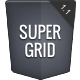 SUPER GRID - Unique Responsive Portfolio - ThemeForest Item for Sale