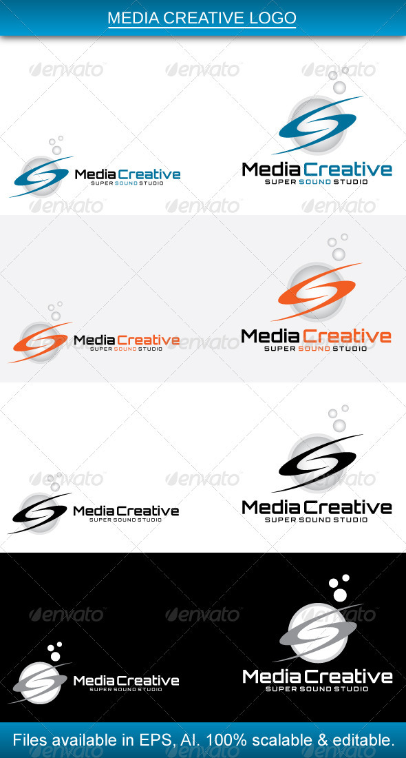 GraphicRiver Media Creative Logo 3792302
