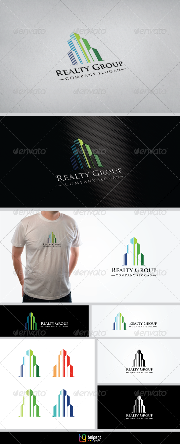GraphicRiver Realty Group Logo Template 3959338