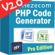 PHP Code Generator Pro Edition Plus Admin Panel - CodeCanyon Item for Sale