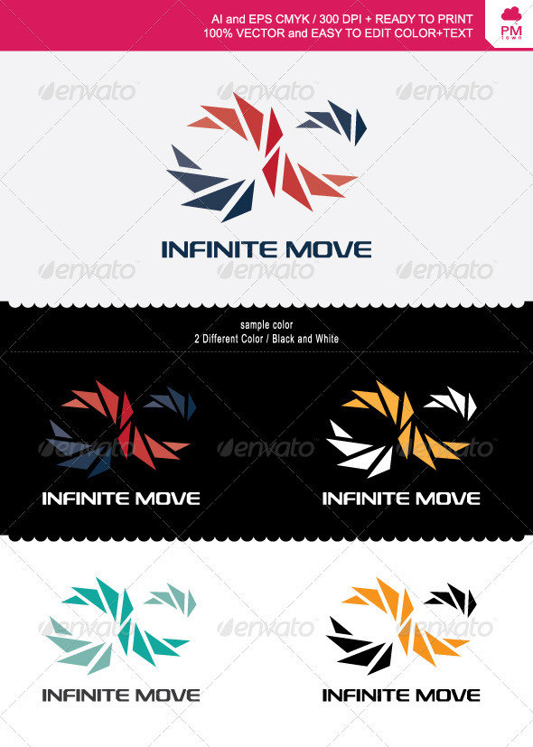Infinite Move - Objects Logo Templates