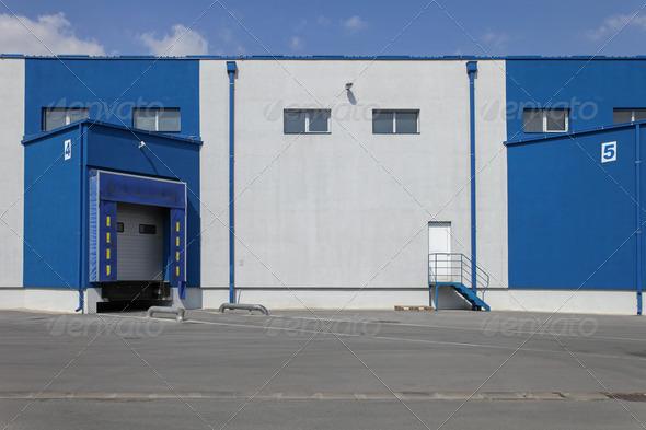 Loading bay - Stock Photo - Images