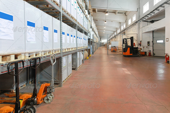 Distribution warehouse - Stock Photo - Images