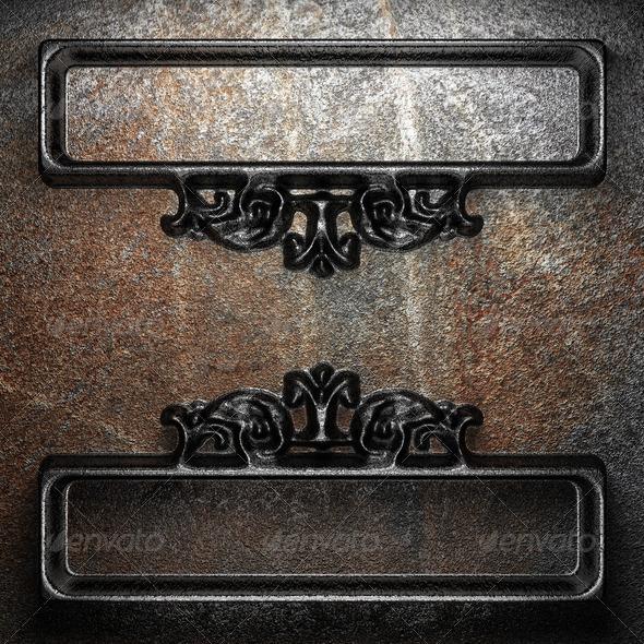 PhotoDune iron vintage ornament 3960124