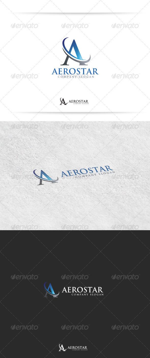 Aerostar - Letters Logo Templates
