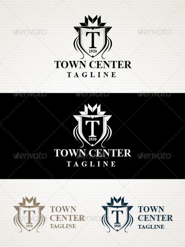 GraphicRiver Town Logo 3777207