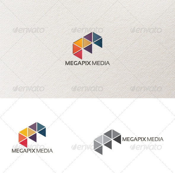 GraphicRiver Megapix Logo Template 3960657