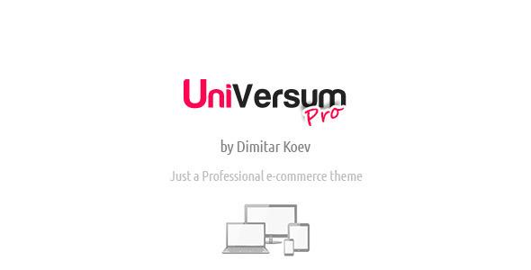 ThemeForest UniVersum Pro premium responsive OpenCart theme 3960972