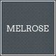 Melrose Responsive Portfolio WordPress Theme - ThemeForest Item for Sale