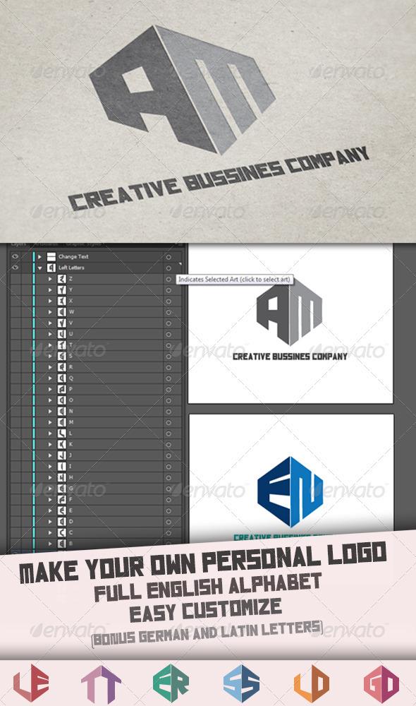 GraphicRiver Letter Logo Template 3961447