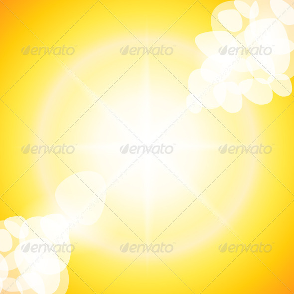 GraphicRiver Sun Rays 3962165