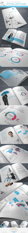Multipurpose minimal Brochure - Brochures Print Templates