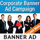 Corporate PSD Banner Ad Template - GraphicRiver Item for Sale