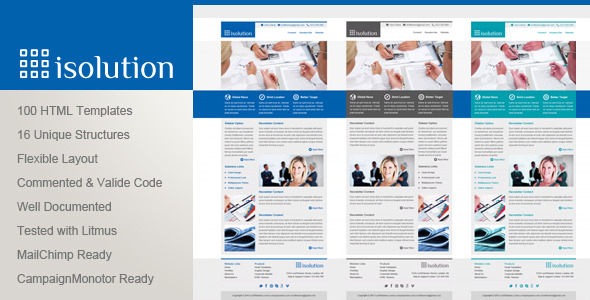 Isolution - Multipurpose Email Templates