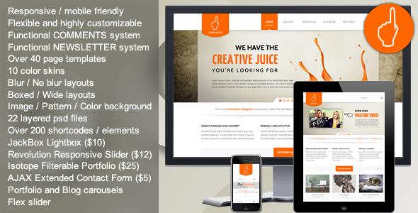 Wise Guys - Responsive Multipurpose HTML5 Template