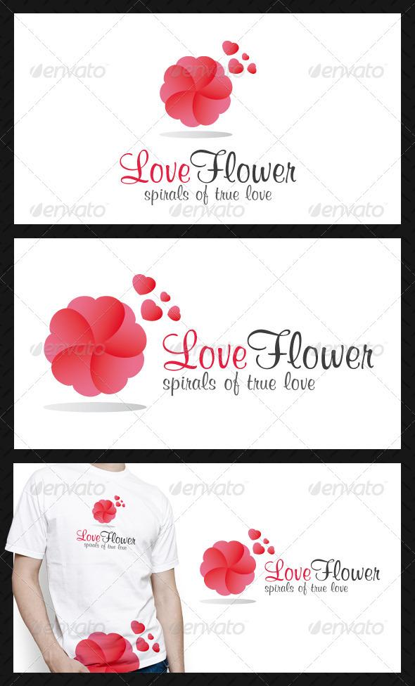 GraphicRiver Love Spiral Logo Template 3846881