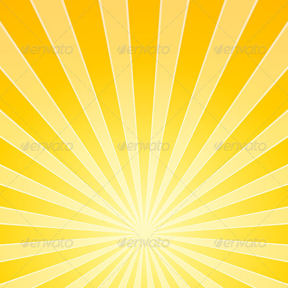 GraphicRiver Yellow Bright Light Beams 3964036