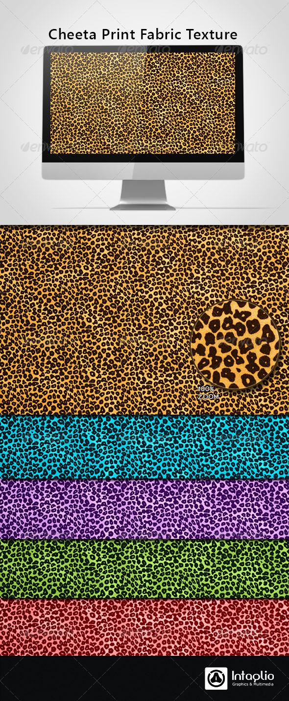 GraphicRiver Cheeta Print Fabric Texture 3964728