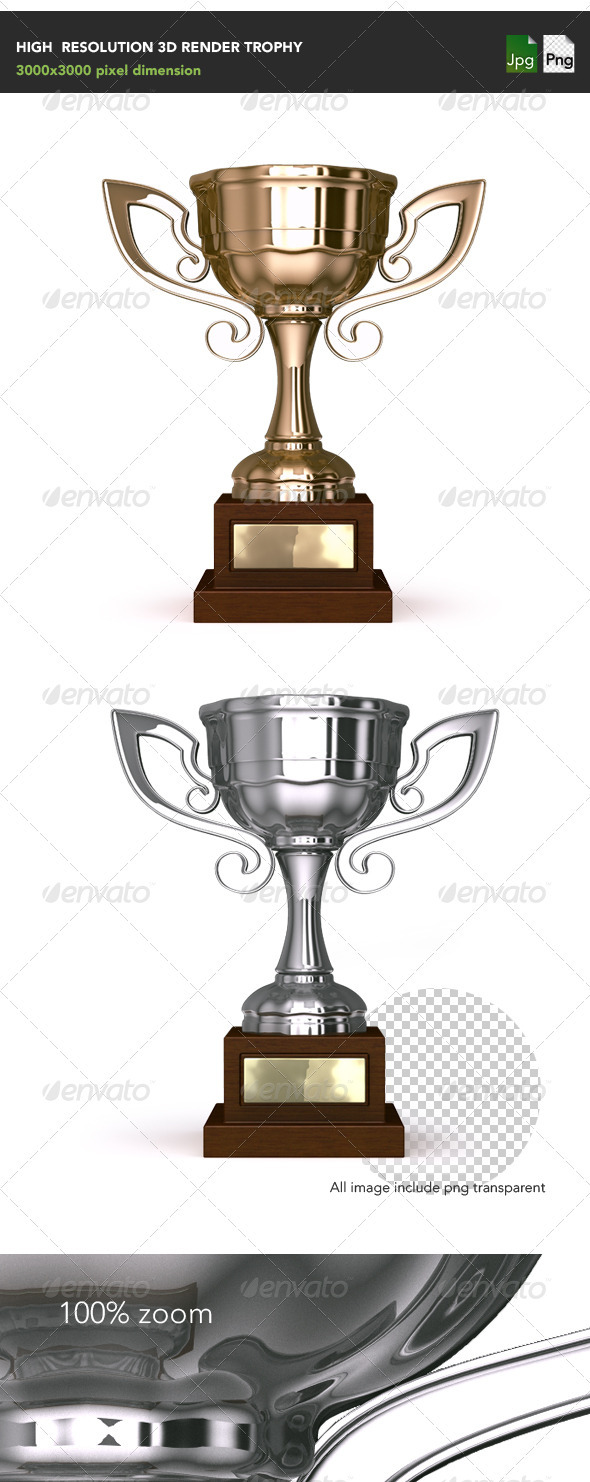 GraphicRiver Trophy 3965205