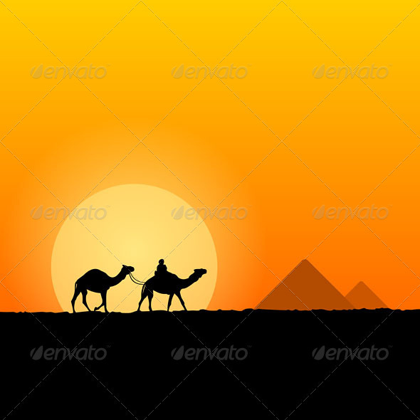 GraphicRiver Hot African Scenery 3965513