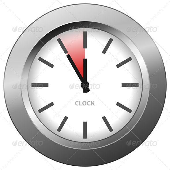 GraphicRiver Light Clock 3965646