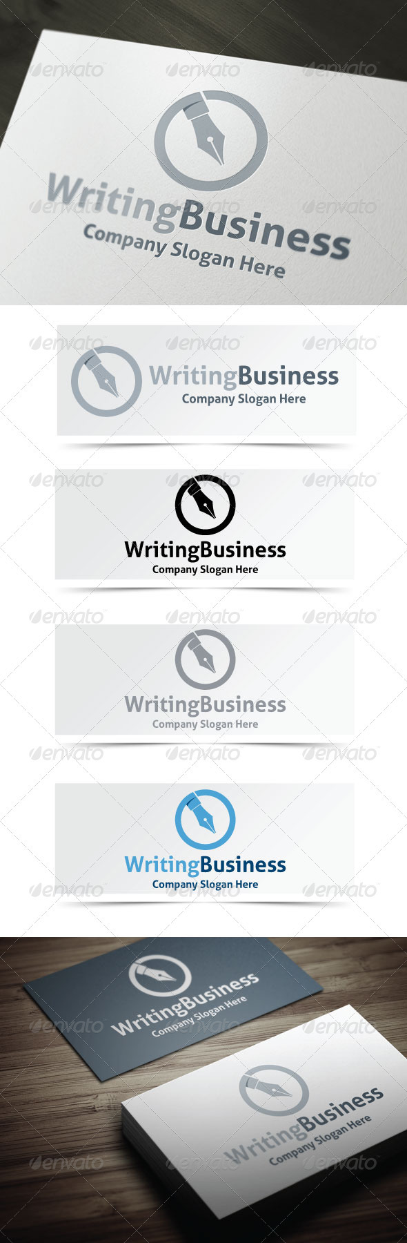 GraphicRiver Writing Business 3966150