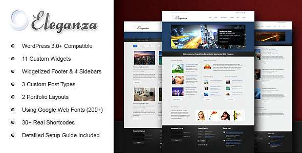 Eleganza Corporate Business WordPress Theme