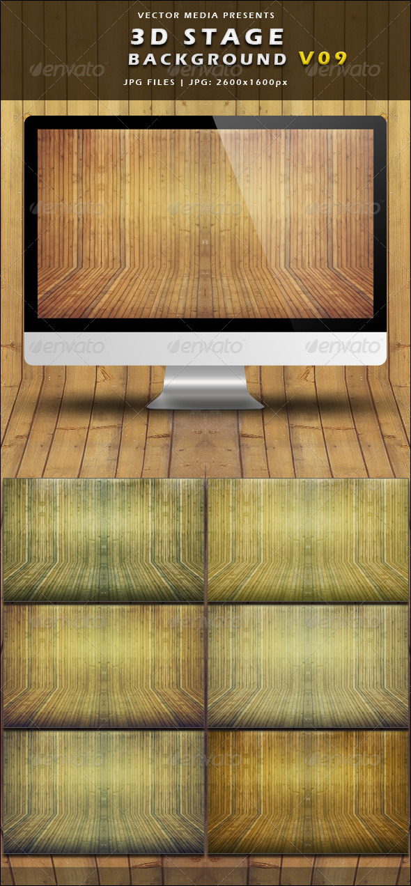 GraphicRiver Stage Background Vol.09 3966690