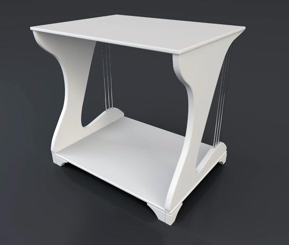 Nightstand - 3DOcean Item for Sale