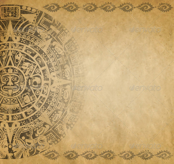 Mayan Calendar - Backgrounds Decorative